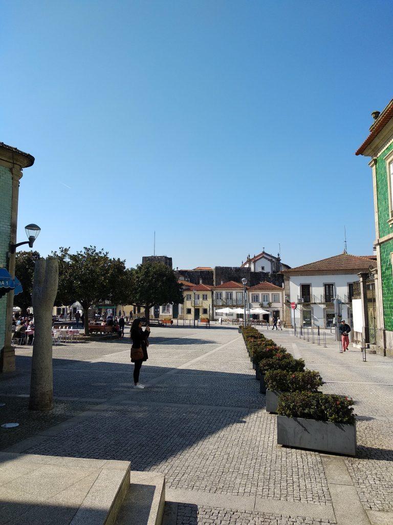 Praça da liberdade cerveira