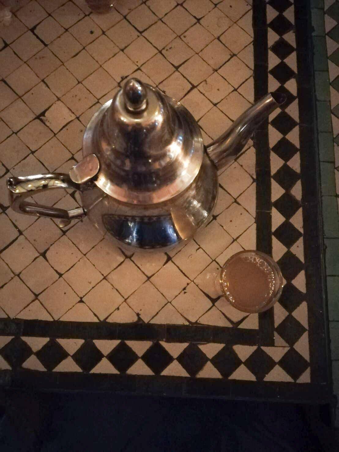 aqua marraquexe chá
