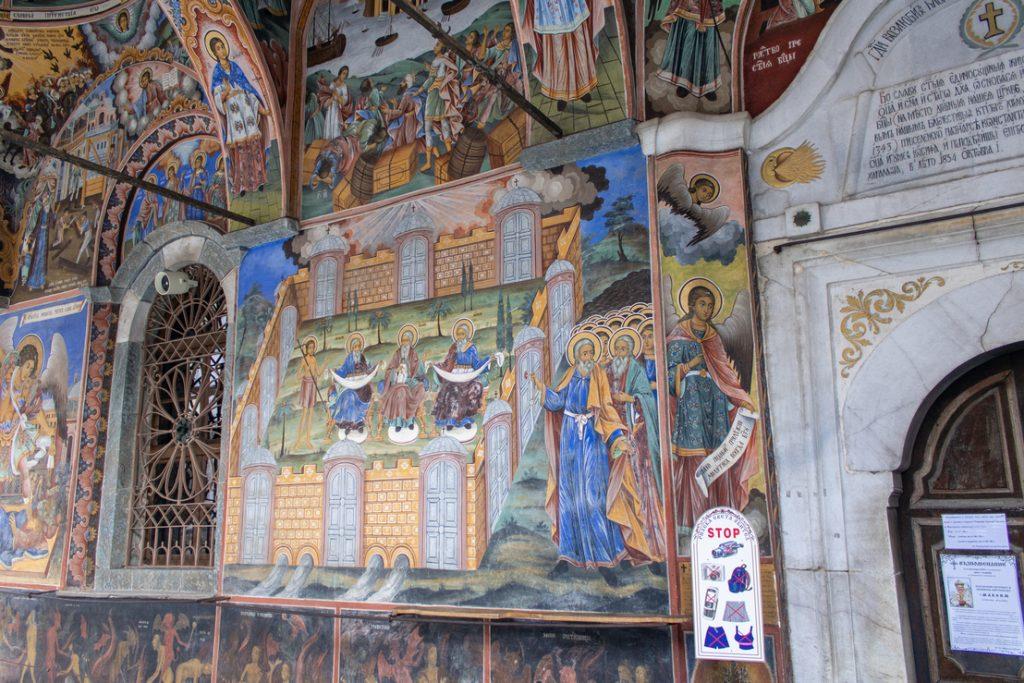 visitar o mosteiro de rila