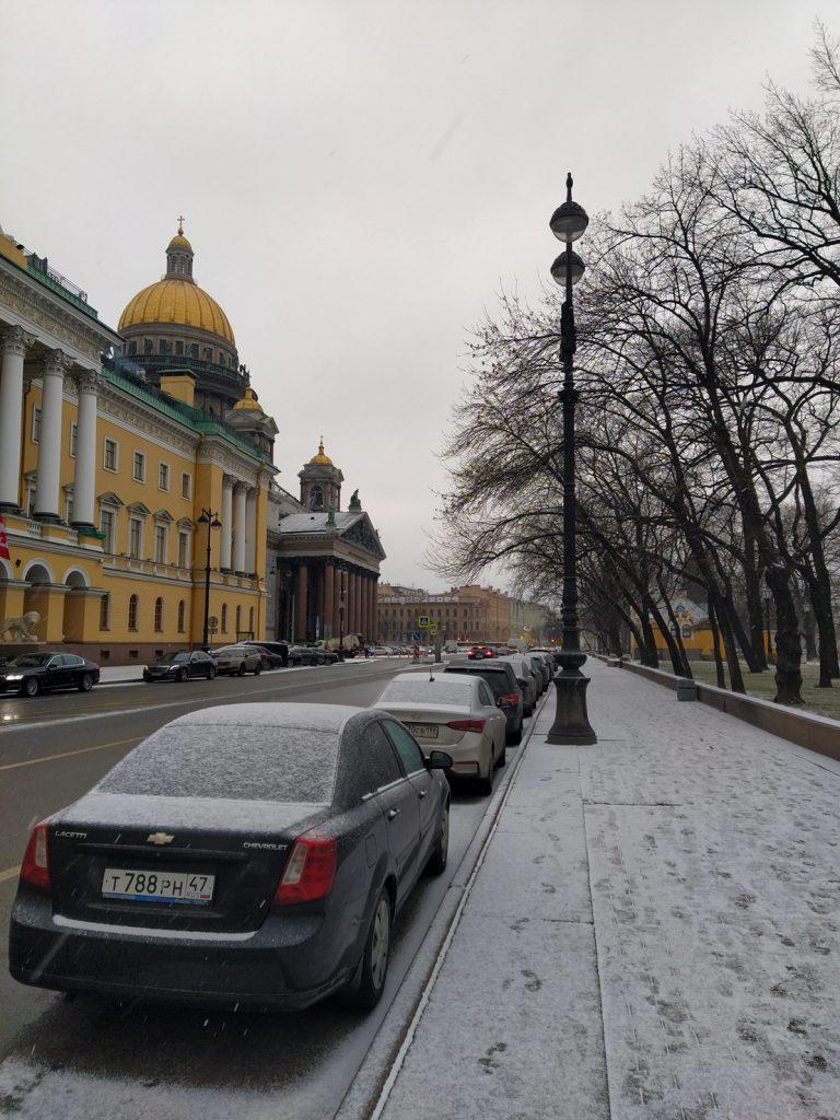 são petersburgo neve