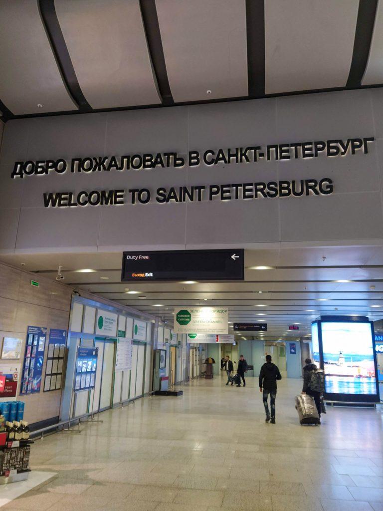 aeroporto são petersburgo